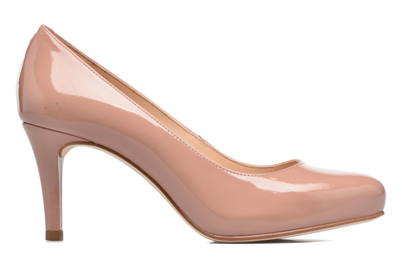 Zapatos de tacón Unisa Nade Rosa vistra trasera