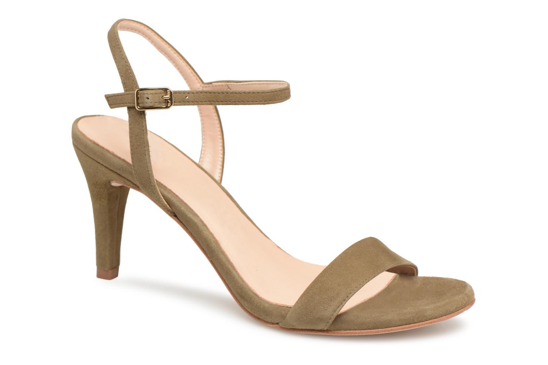 Zapatos promocionales Unisa Olea (Verde) - Sandalias   Descuento de la marca