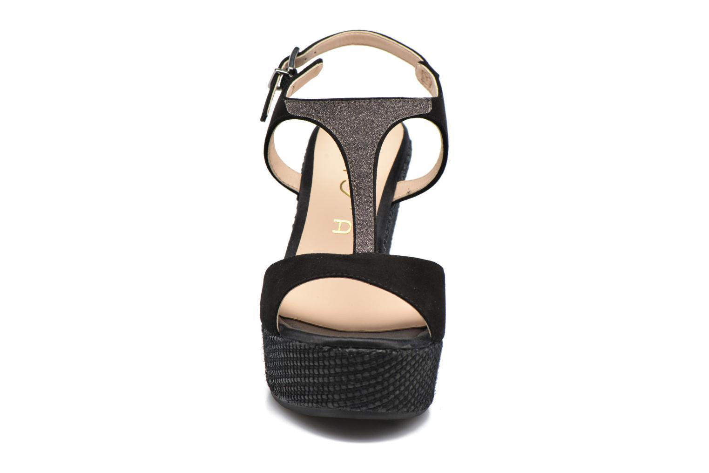 Sandalen Unisa Mambasen schwarz schuhe getragen