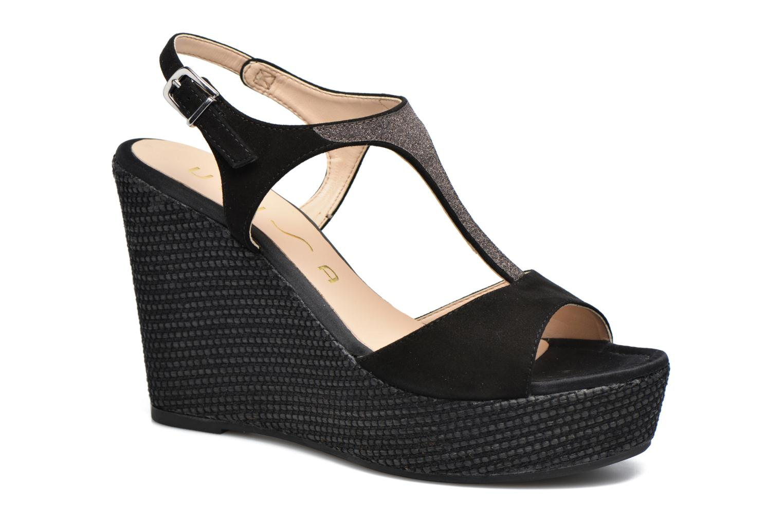 Grandes descuentos últimos zapatos Unisa Mambasen (Negro) - Sandalias Descuento