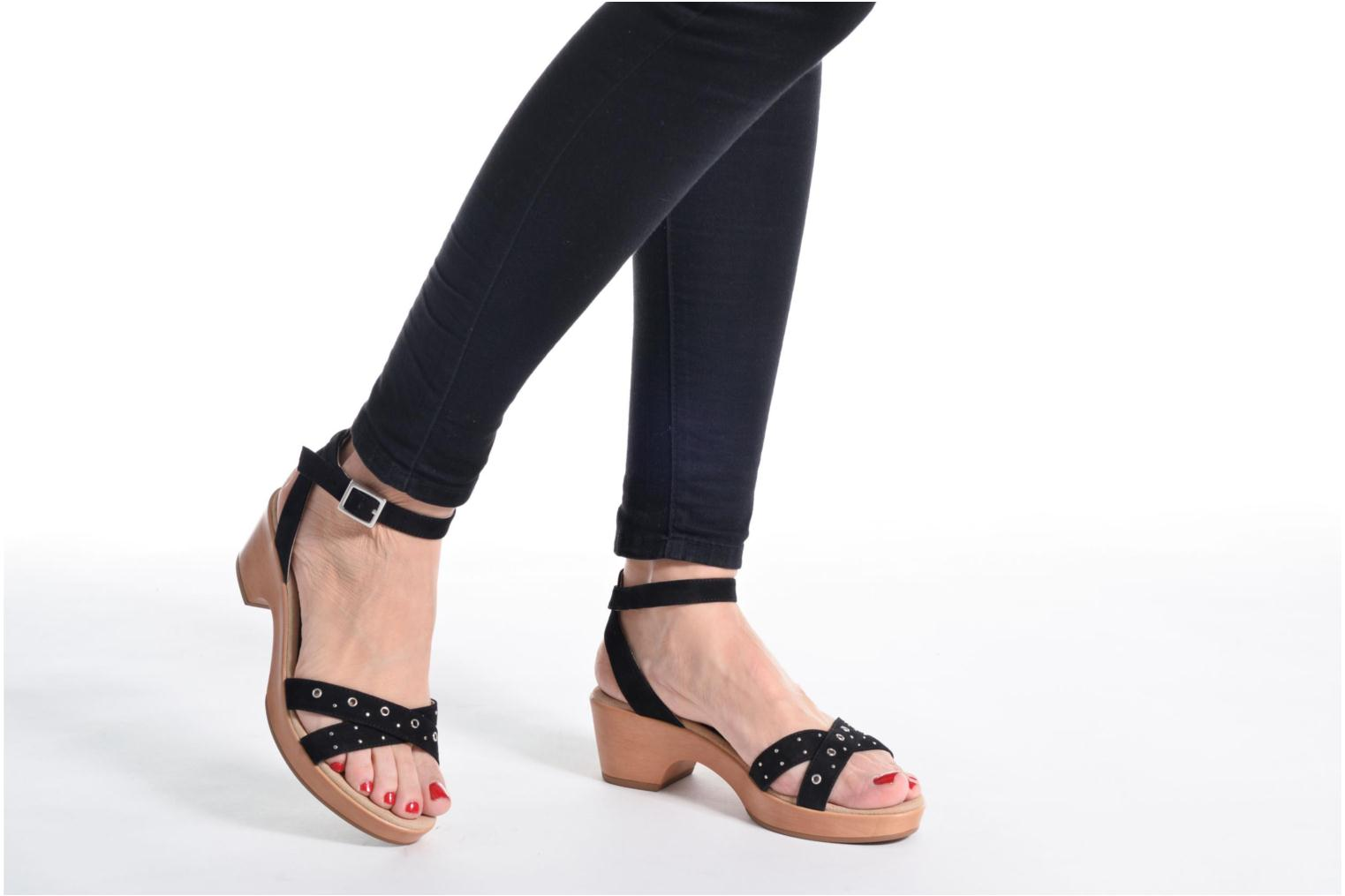 Irita 3 Kid Suede Black