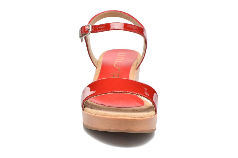 Sandales et nu-pieds Unisa Irita 3 Rouge vue portées chaussures