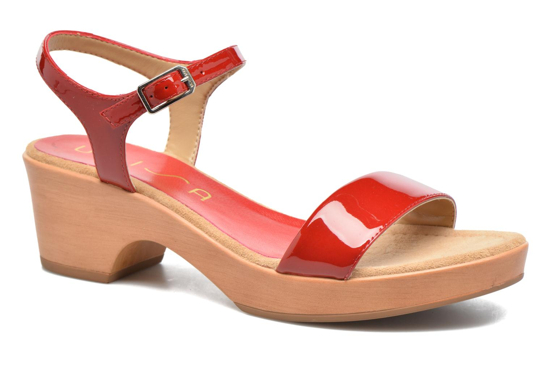 Sandales et nu-pieds Unisa Irita 3 Rouge vue détail/paire