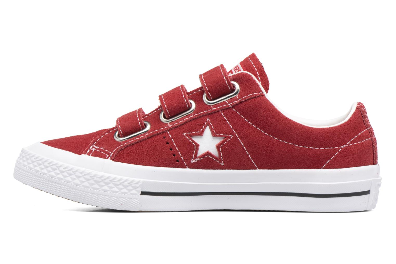 Sneakers Converse Converse One Star 3V Ox Rød se forfra