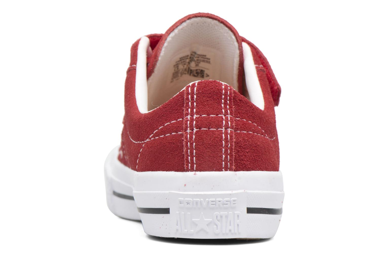 Sneakers Converse Converse One Star 3V Ox Rød Se fra højre