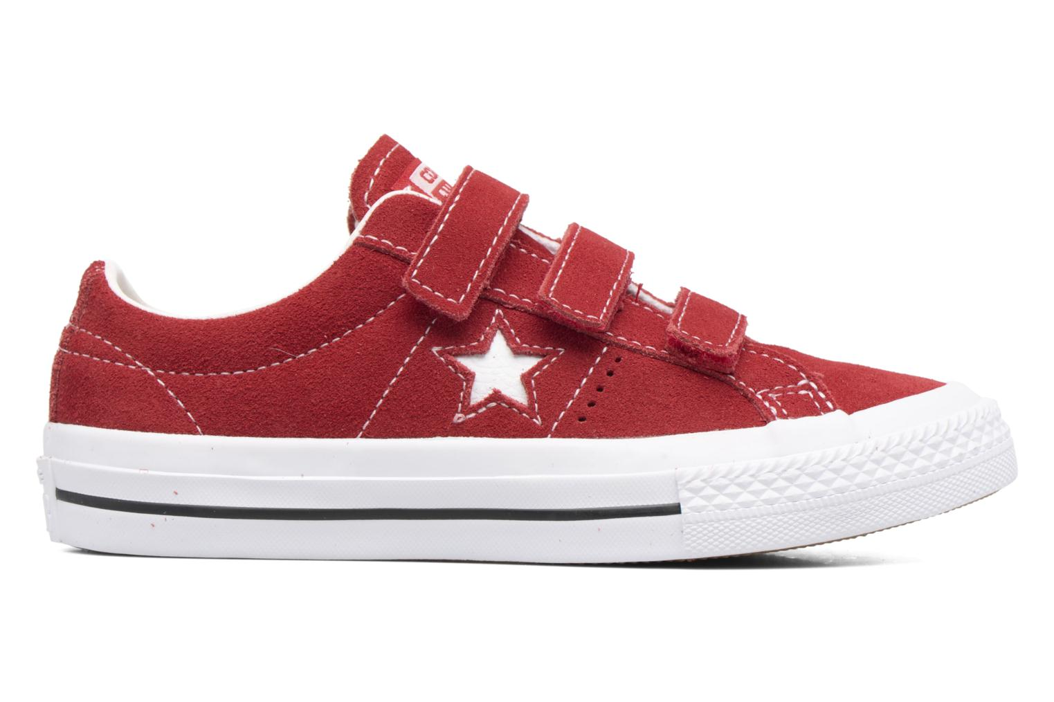 Trainers Converse Converse One Star 3V Ox Red back view