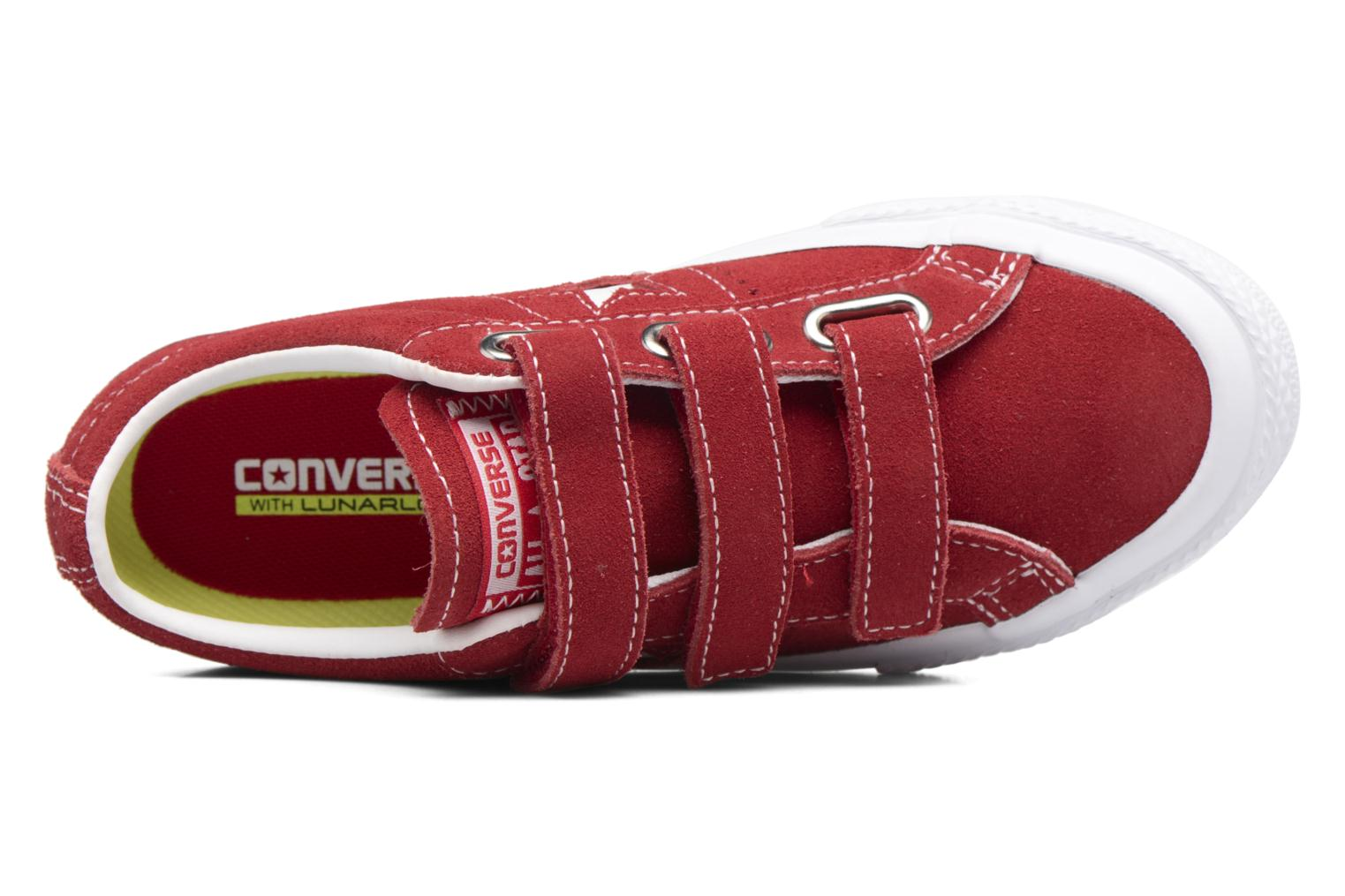 Sneakers Converse Converse One Star 3V Ox Rosso immagine sinistra