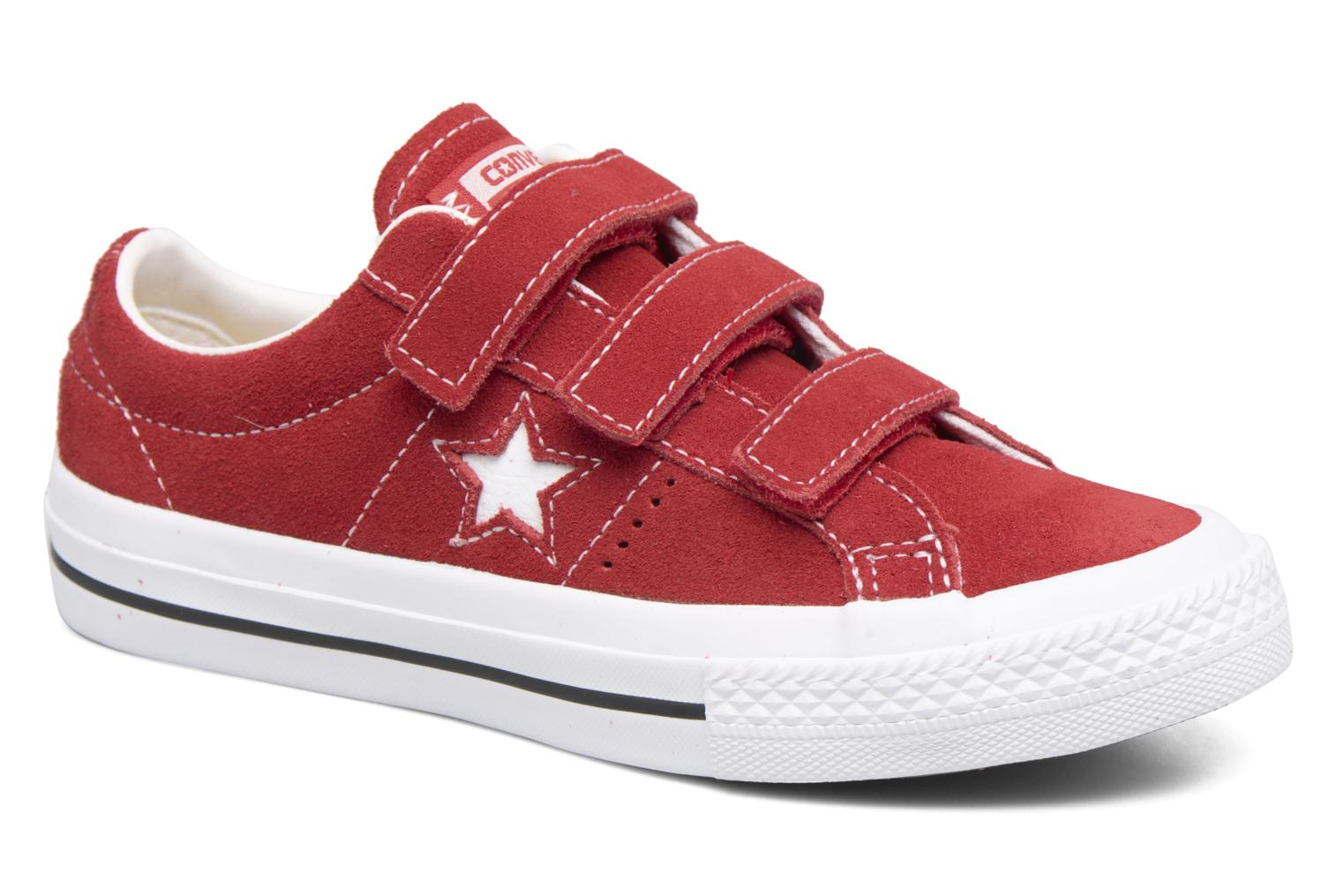 Trainers Converse Converse One Star 3V Ox Red detailed view/ Pair view