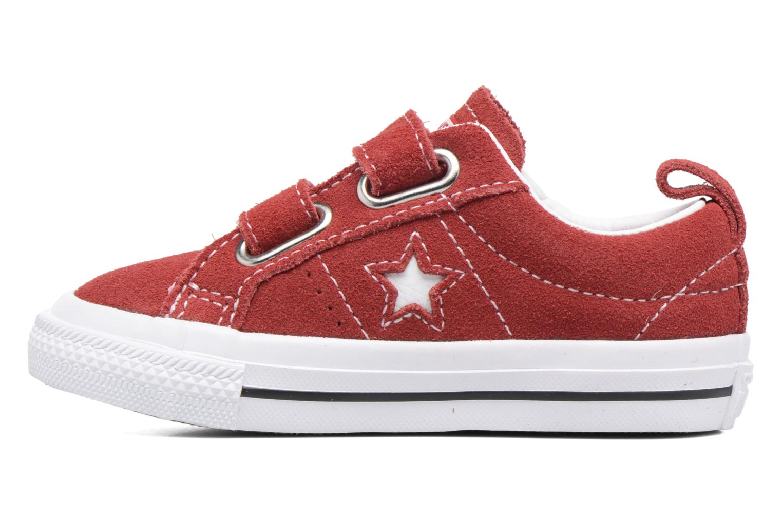 Sneakers Converse Converse One Star 2V Ox Rosso immagine frontale