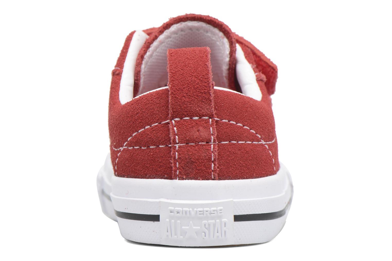 Sneakers Converse Converse One Star 2V Ox Rosso immagine dall'alto