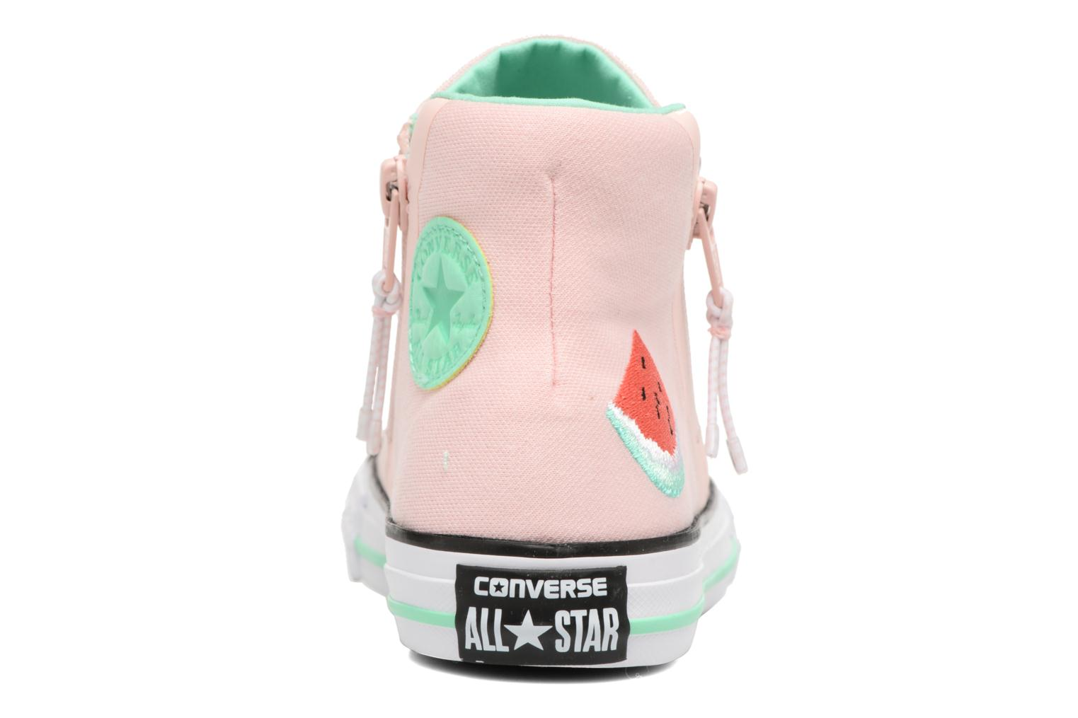 Chuck Taylor All Star Sport Zip Hi Vapor Pink/White