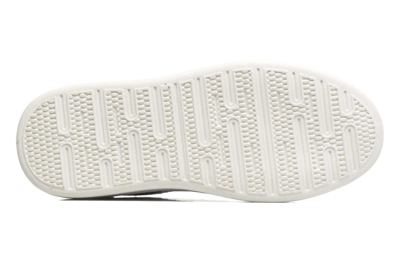Baskets I Love Shoes Xucro Argent vue haut