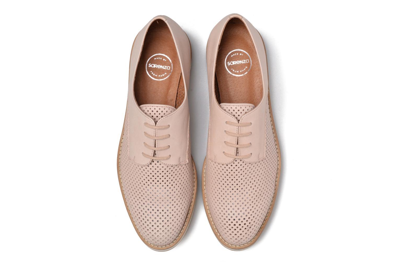 Chaussures à lacets Made by SARENZA Sugar Shoegar #7 Beige vue portées chaussures