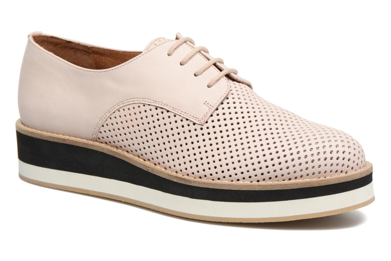 Chaussures à lacets Made by SARENZA Sugar Shoegar #7 Beige vue droite