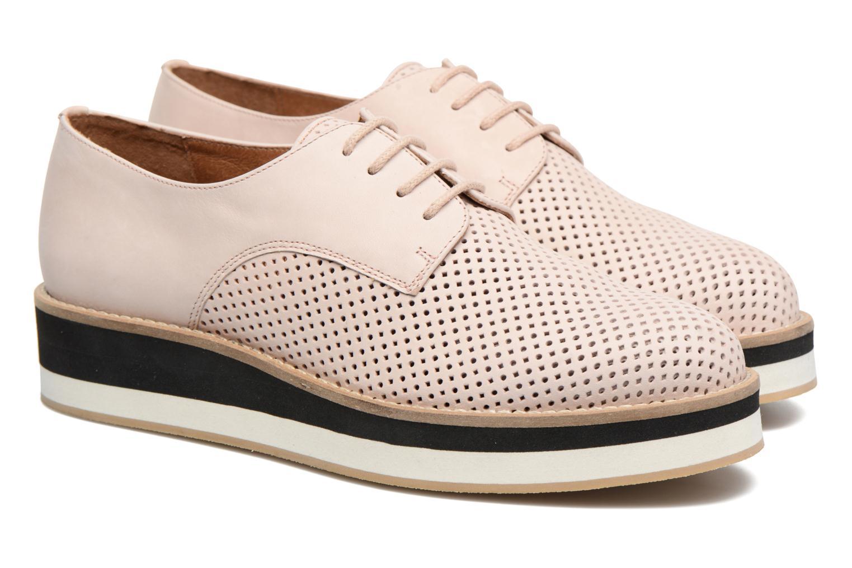 Chaussures à lacets Made by SARENZA Sugar Shoegar #7 Beige vue derrière