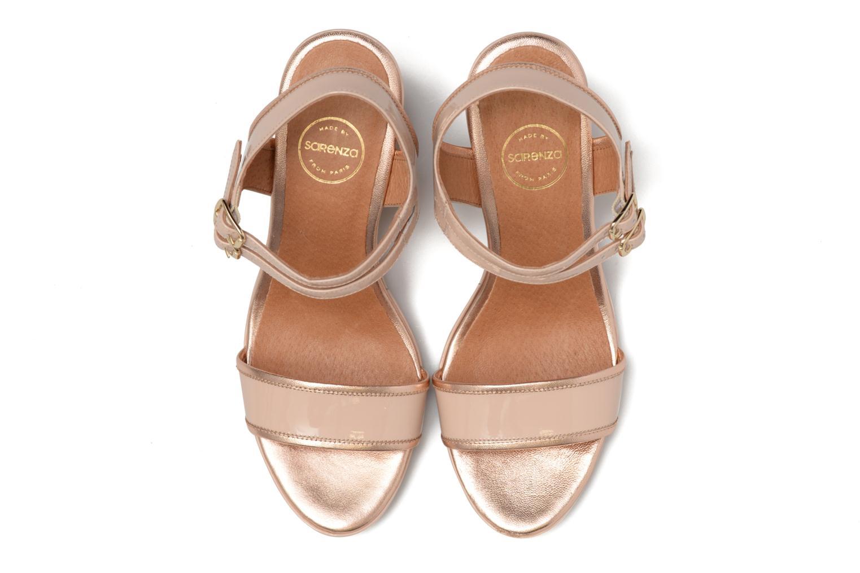Sandalen Made by SARENZA Pastel Belle #10 beige schuhe getragen