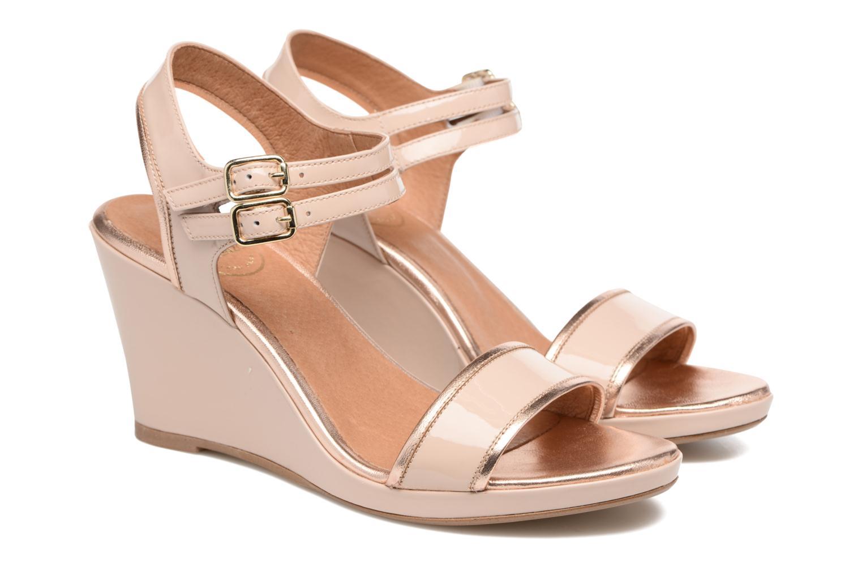 Sandalen Made by SARENZA Pastel Belle #10 beige ansicht von hinten