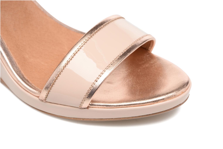 Sandalen Made by SARENZA Pastel Belle #10 beige ansicht von links