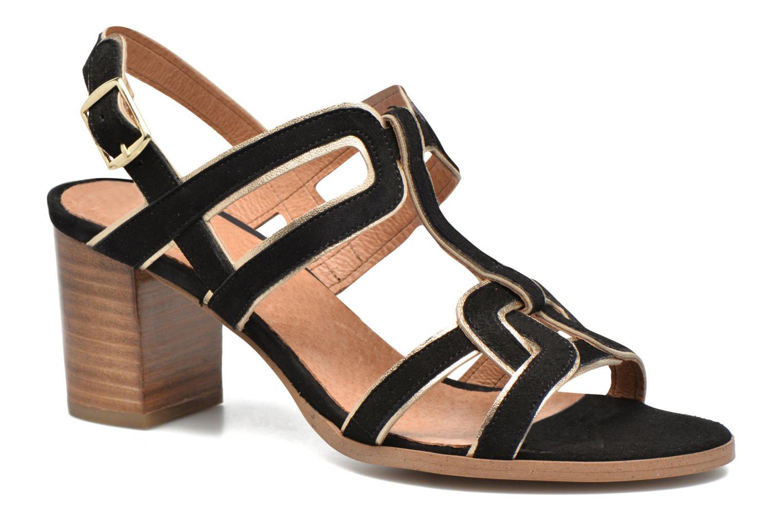 Sandales et nu-pieds Made by SARENZA Frida Banana #1 Noir vue droite