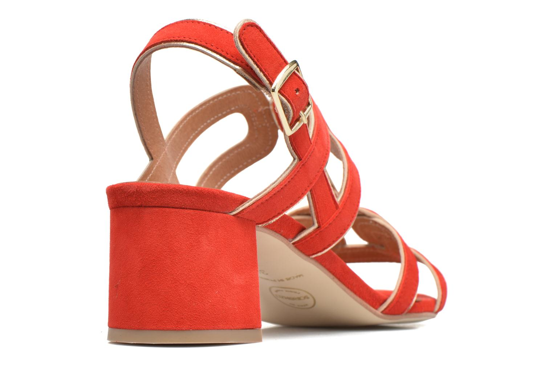 Sandales et nu-pieds Made by SARENZA Frida Banana #2 Rouge vue face