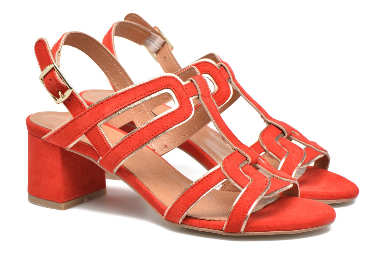 Sandales et nu-pieds Made by SARENZA Frida Banana #2 Rouge vue derrière