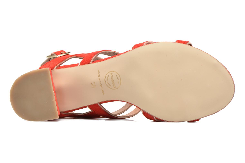 Sandales et nu-pieds Made by SARENZA Frida Banana #2 Rouge vue haut