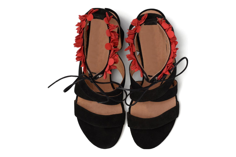 Sandalen Made by SARENZA Frida Banana #4 schwarz schuhe getragen