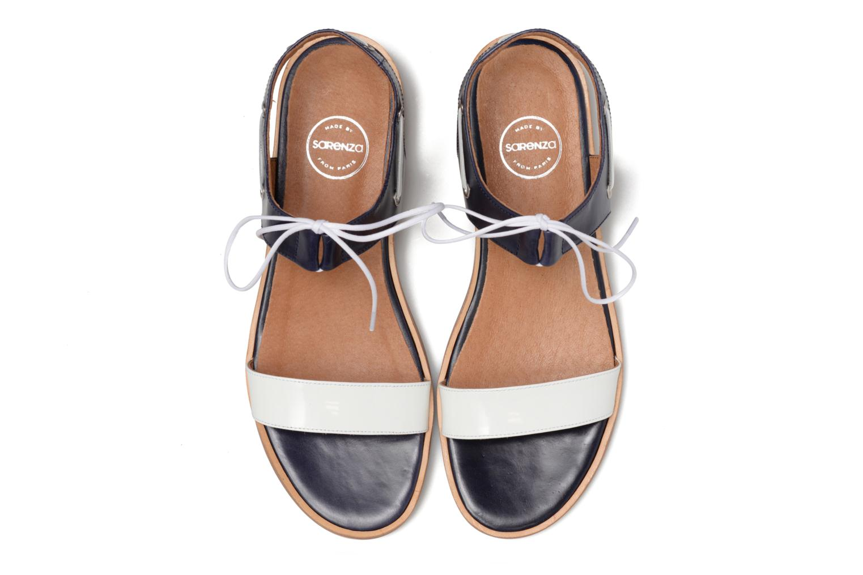 Sandales et nu-pieds Made by SARENZA Pastel Belle #6 Bleu vue portées chaussures