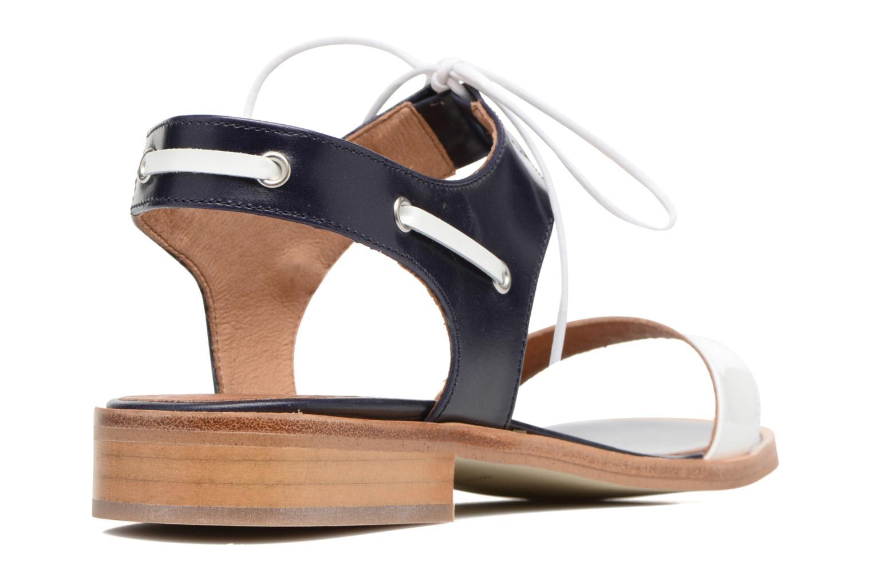 Sandalias Made by SARENZA Pastel Belle #6 Azul vista de frente