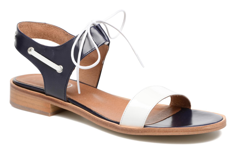 Sandalias Made by SARENZA Pastel Belle #6 Azul vista lateral derecha