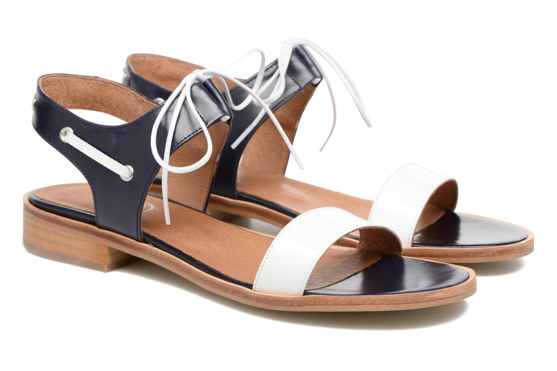 Sandalias Made by SARENZA Pastel Belle #6 Azul vistra trasera