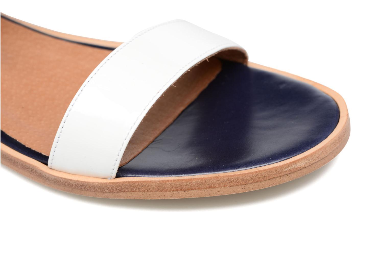 Sandalias Made by SARENZA Pastel Belle #6 Azul vista lateral izquierda