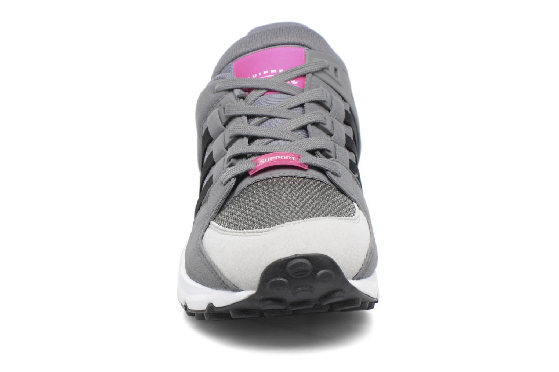Baskets Adidas Originals Eqt Support J Blanc vue portées chaussures