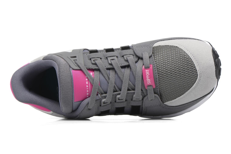 Baskets Adidas Originals Eqt Support J Blanc vue gauche