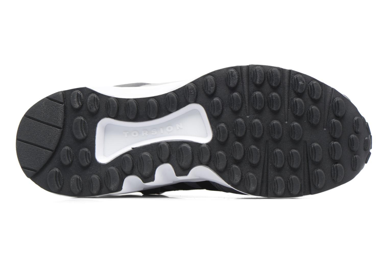 Baskets Adidas Originals Eqt Support J Blanc vue haut