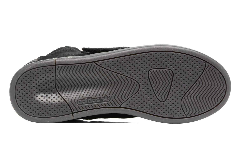Baskets Adidas Originals Tubular Invader Strap J Noir vue haut