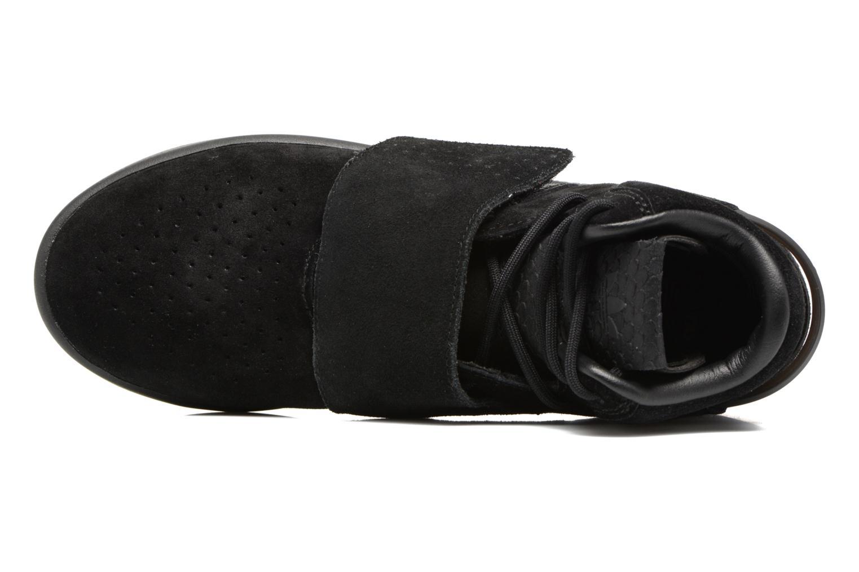 Baskets Adidas Originals Tubular Invader Strap J Noir vue gauche