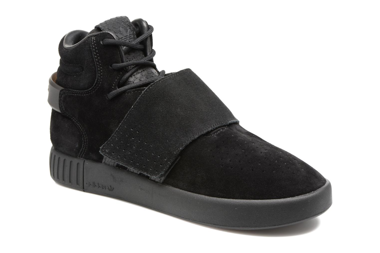 Sneakers Adidas Originals Tubular Invader Strap J Nero vedi dettaglio/paio