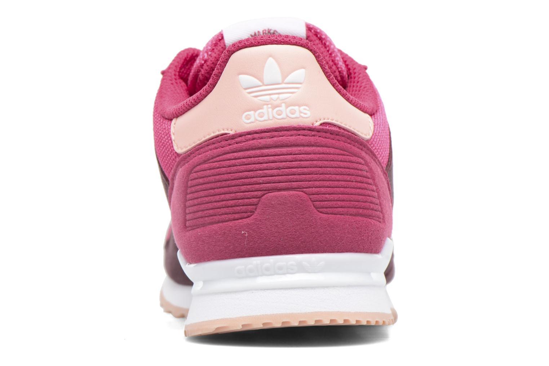 Baskets Adidas Originals Zx 700 J Rose vue droite