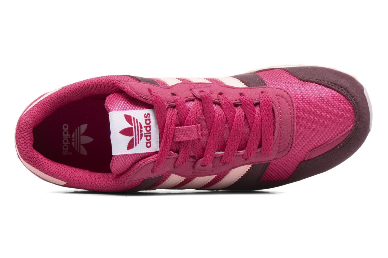 Baskets Adidas Originals Zx 700 J Rose vue gauche