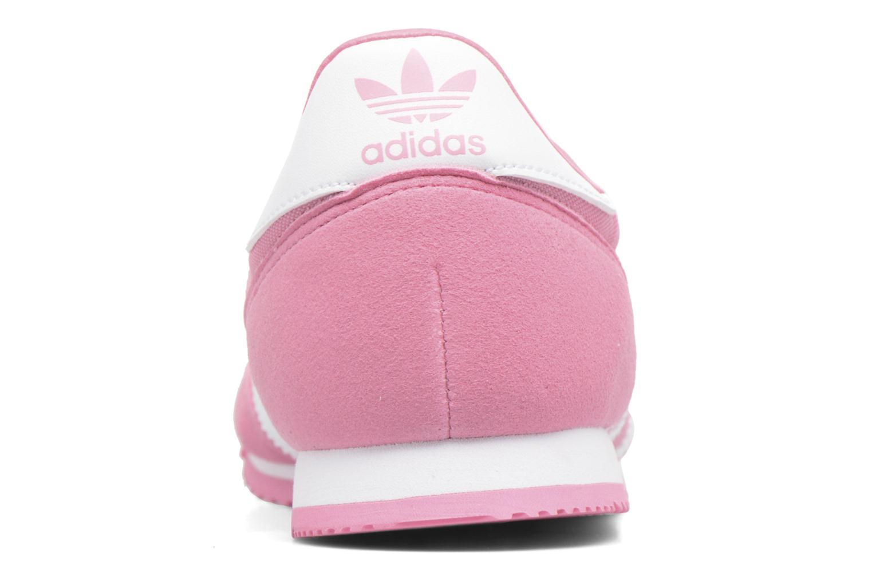 Baskets Adidas Originals Dragon Og J Rose vue droite