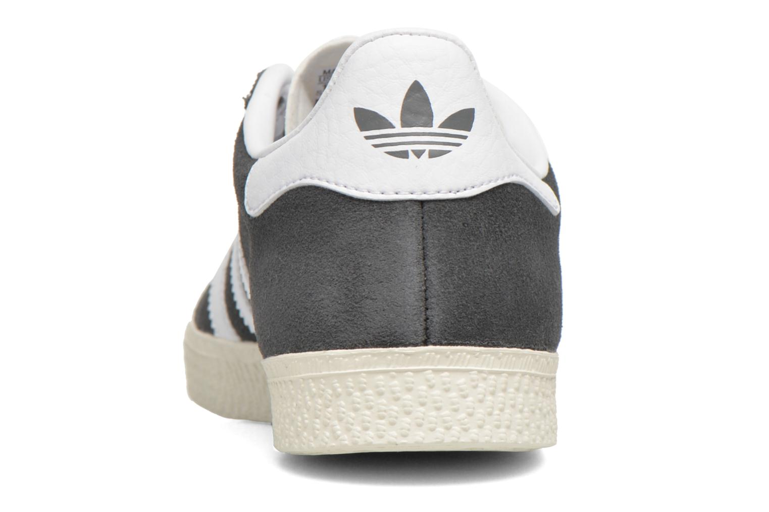 Baskets Adidas Originals Gazelle C Gris vue droite