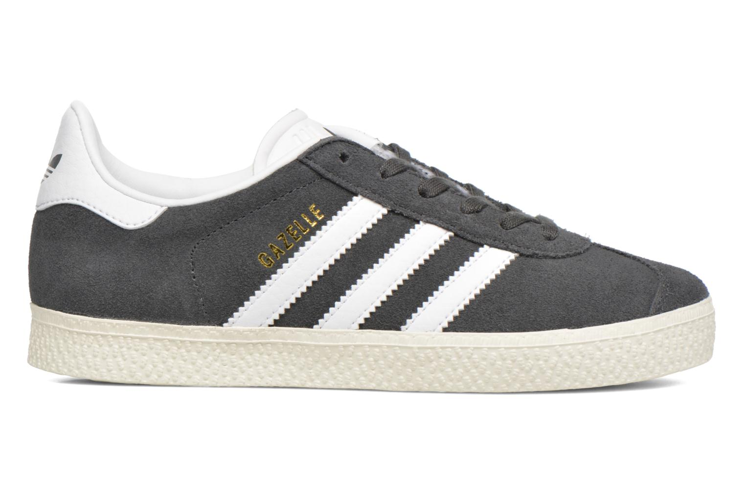 Baskets Adidas Originals Gazelle C Gris vue derrière