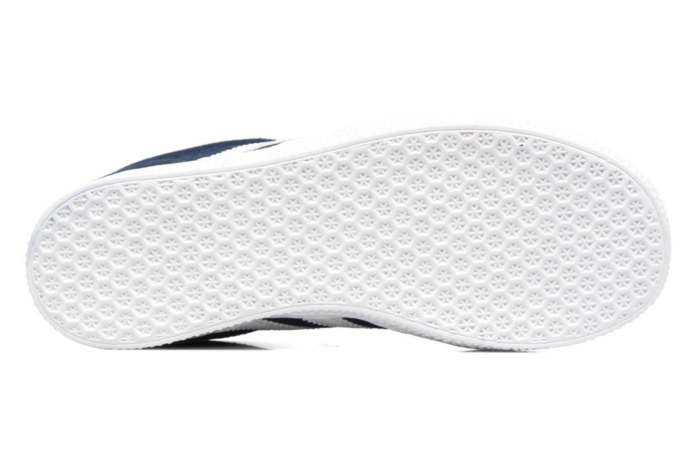 Baskets Adidas Originals Gazelle C Bleu vue haut