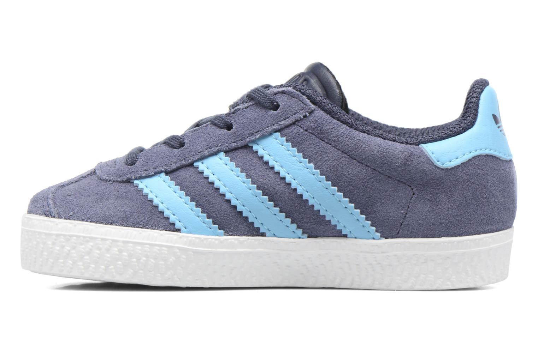 Sneakers Adidas Originals Gazelle I Blå se forfra