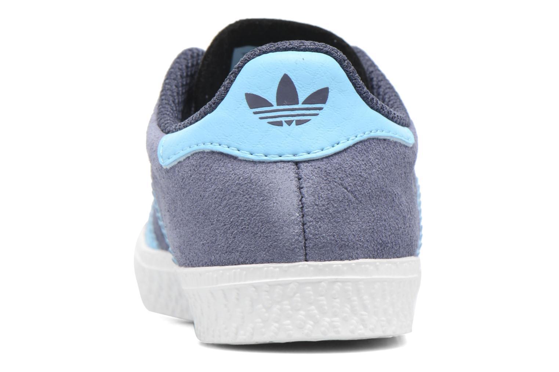 Sneakers Adidas Originals Gazelle I Blå Se fra højre