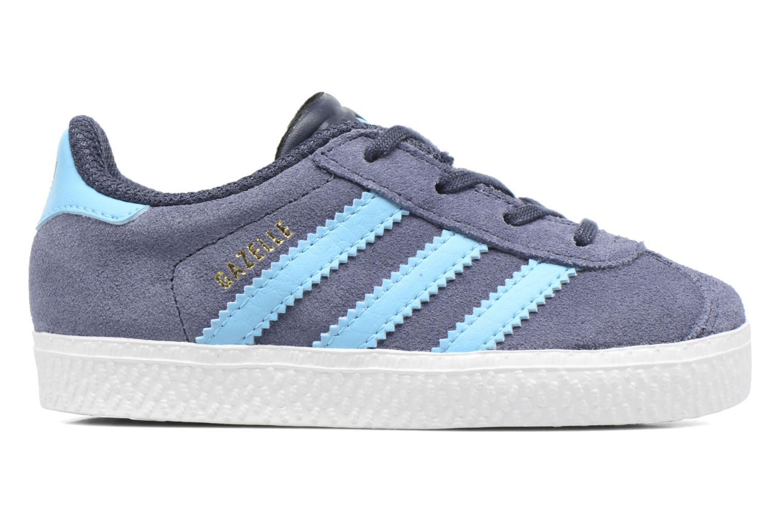 Sneakers Adidas Originals Gazelle I Blå se bagfra
