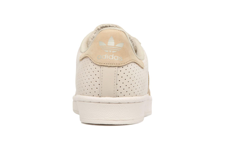 Baskets Adidas Originals Superstar Fashion J Beige vue droite