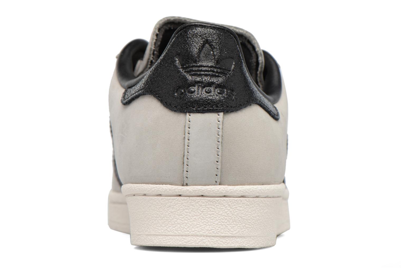 Baskets Adidas Originals Superstar Fashion J Gris vue droite