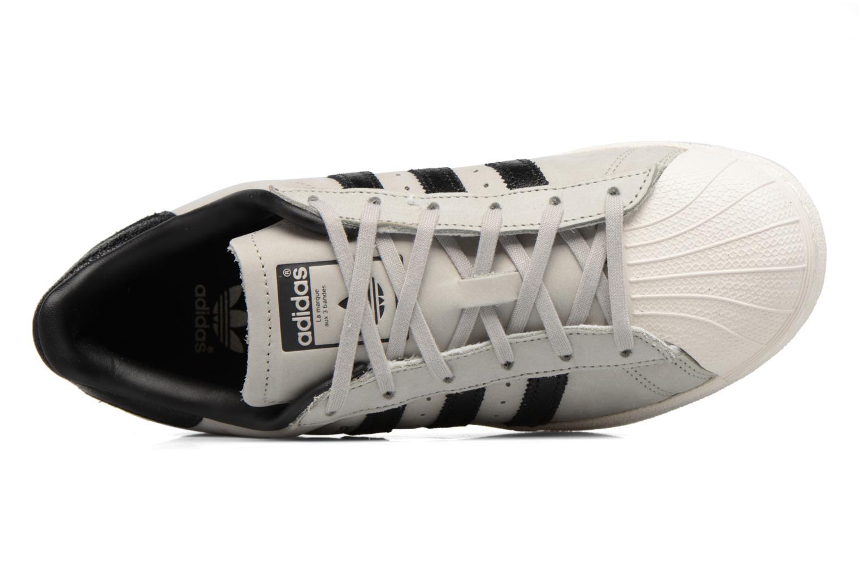 Baskets Adidas Originals Superstar Fashion J Gris vue gauche